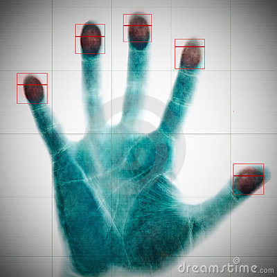 Scanning of fingerprints