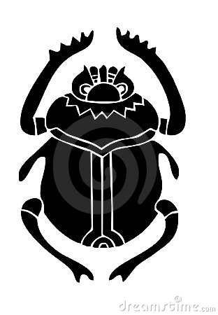 Free Scarab Beatle Stock Images - 718004