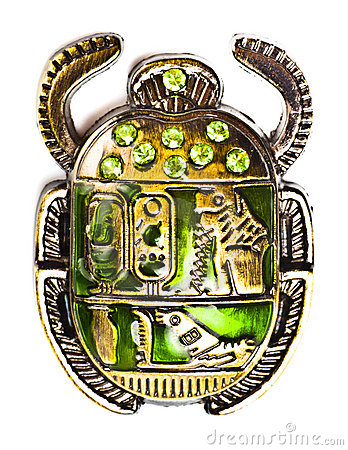 Free Scarab With Gems Stock Images - 12748364