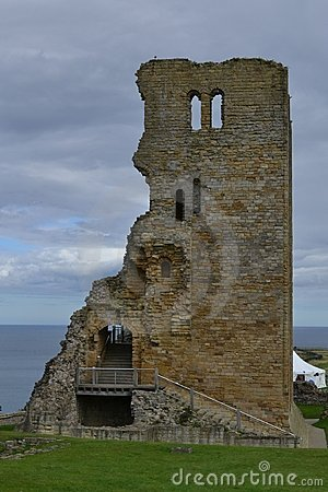 Free Scarborough Castle Royalty Free Stock Image - 21193436