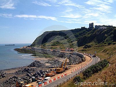 Scarborough Coastal Erosion