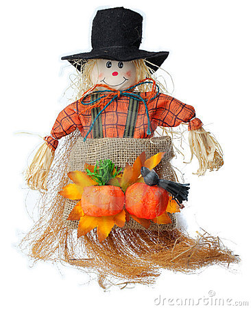 Free Scarecrow Royalty Free Stock Photo - 21788075