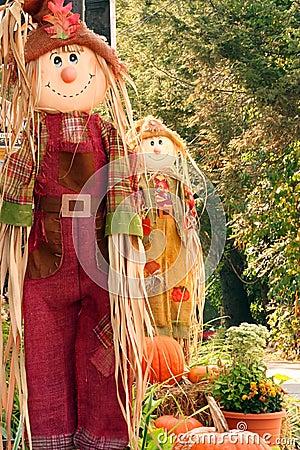 Free Scarecrow Royalty Free Stock Image - 3261216