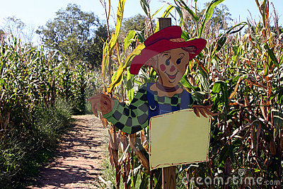 Scarecrow Advertiser One