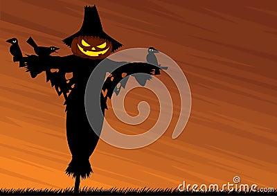 Scarecrow Background