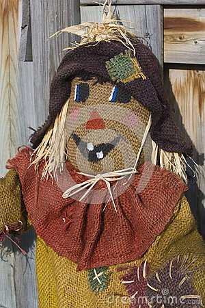 Scarecrow with fence