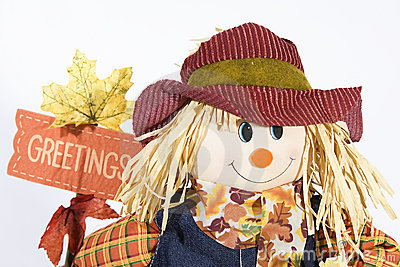 Scarecrow greetings