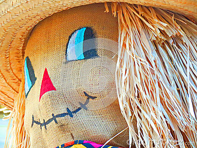 Scarecrow Smiling
