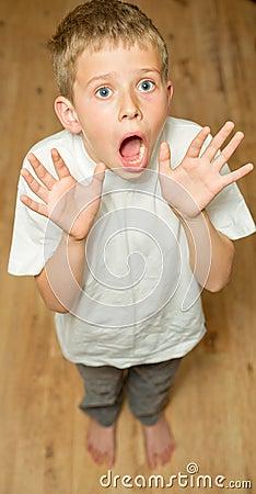 Nervous Boy Clipart