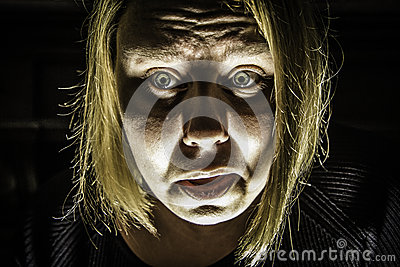Scared Woman 2