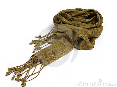 A scarf from India