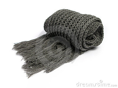 A scarf made of woolen