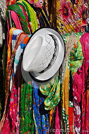 Scarfs and hat