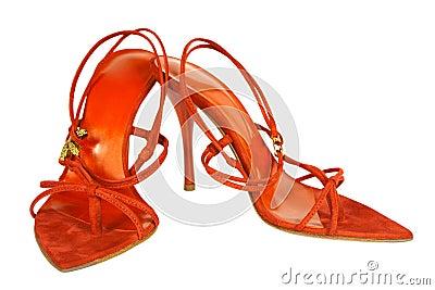 Scarlet shoes