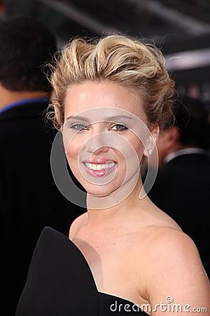 Scarlett Johansson Editorial Stock Image