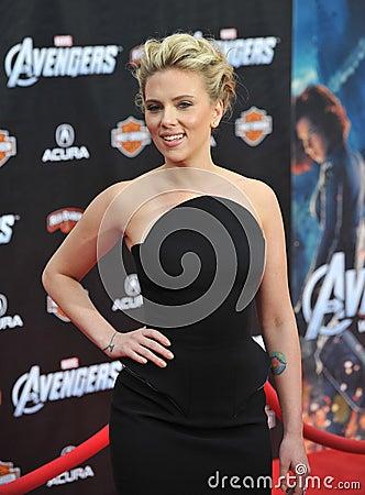 Scarlett Johansson Editorial Image