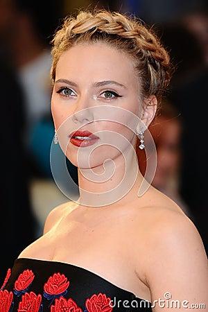 Scarlett Johansson Editorial Photo