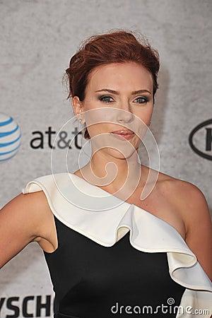 Scarlett Johansson Editorial Photography
