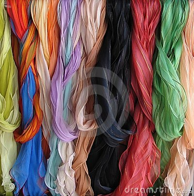 Free Scarves Royalty Free Stock Images - 54359