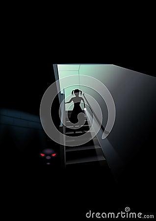 Scary υπόγειο
