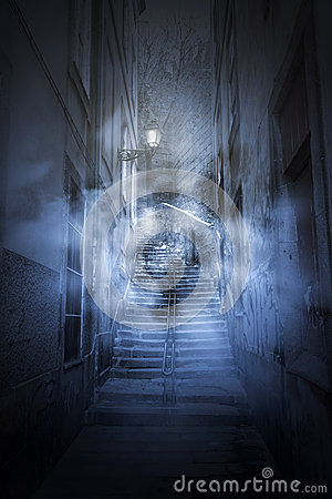 Free Scary Alley Stock Photos - 27491213