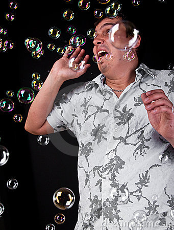 Scary bubbles