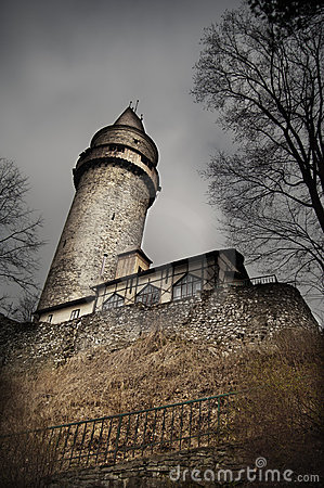 Free Scary Castle Tower Stock Images - 19258394