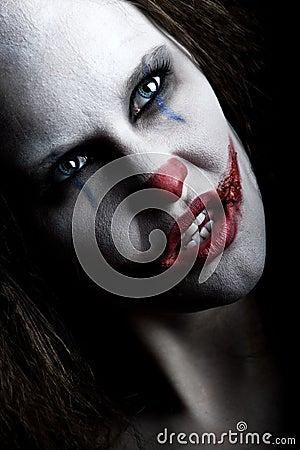 Free Scary Clown Stock Photos - 12248853