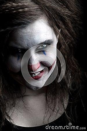 Free Scary Clown Stock Photo - 12269290