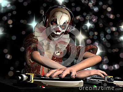 Scary Clown DJ