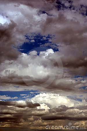 Scary daytime sky