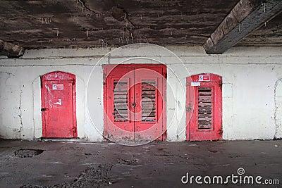 Scary doors