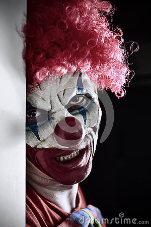 Free Scary Evil Clown Stock Images - 77967714