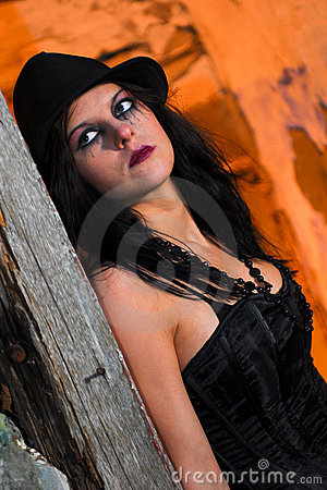 Scary Goth Girl