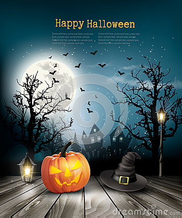 Free Scary Halloween Background With A Old Paper. Royalty Free Stock Photos - 77722438