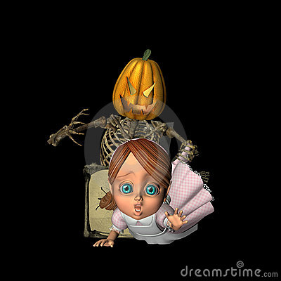 Free Scary Jack-in-the-Box Stock Images - 1249404
