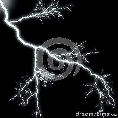 Scary Lightning Stock Photography Image 3260662
