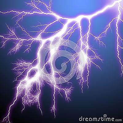 Scary Lightning Royalty Free Stock Photo Image 8880135