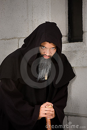Scary monk