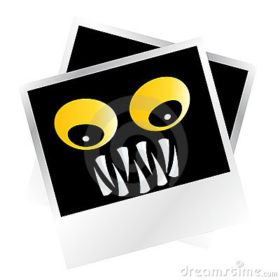 Scary monster pictures