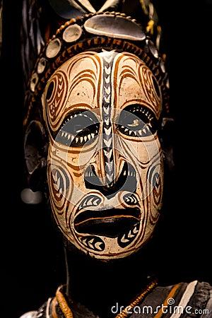 Free Scary Papua Mask Stock Photo - 86025930
