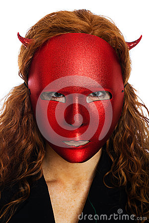 Scary redhead