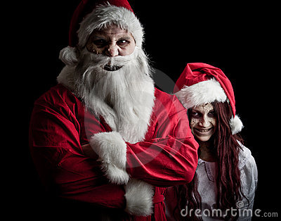 Scary Santa Stock Photo - Image: 17471580