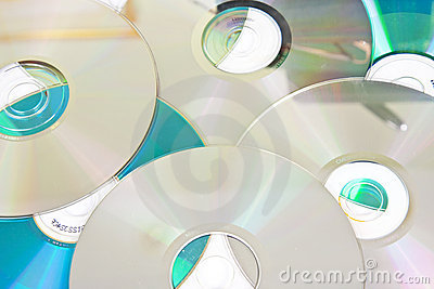 Scattered CD background