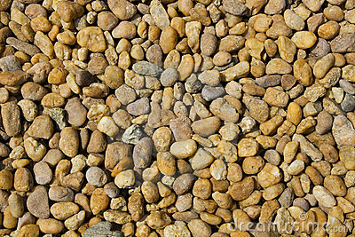 Scattered pebbles