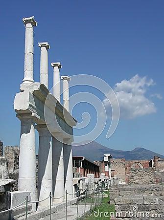 Scavi di Pompei, Napoli, Italia