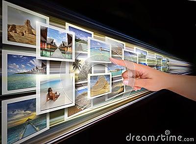 Scelta del visualizzatore digitale