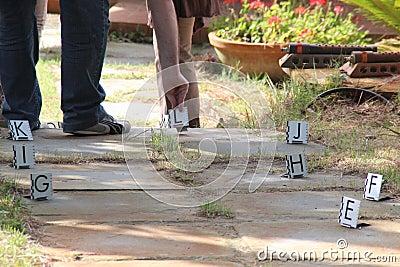 Scena del crimine Fotografia Editoriale
