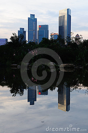 Scene of China Guanghzou city Editorial Stock Image