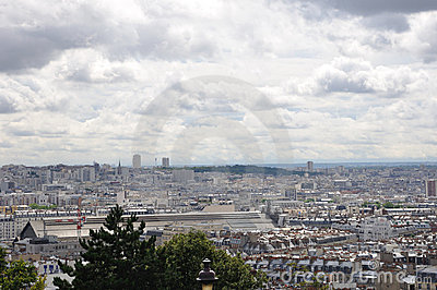 Scene from Montmartre